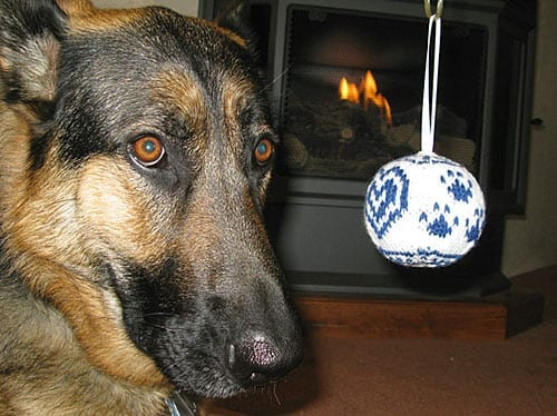 Order your handmade heirloom, three paw two heart tripod dog ornament to help the Tripawds canine amputee community.