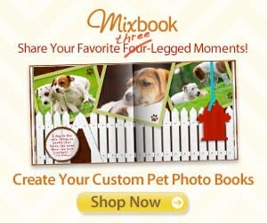 Create Custom Pet Photo Books with Mixbook