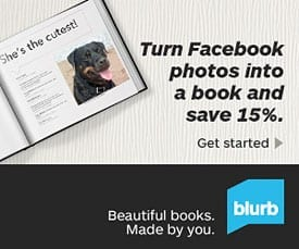 Facebook Photo Book Blurb Coupon