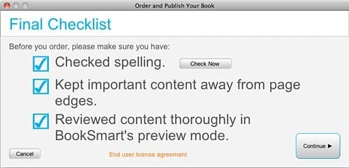 How to use Blurb Booksmart software