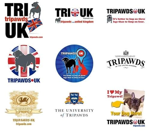 Tripawds UK Gift Designs