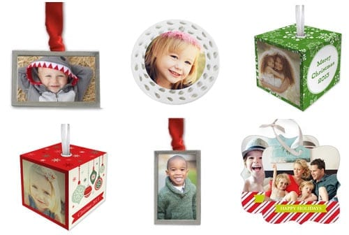 shutterfly custom photo ornaments