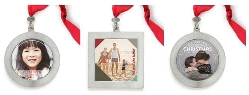 tinyprints custom photo ornaments
