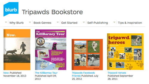 Tripawds Blurb Bookstore