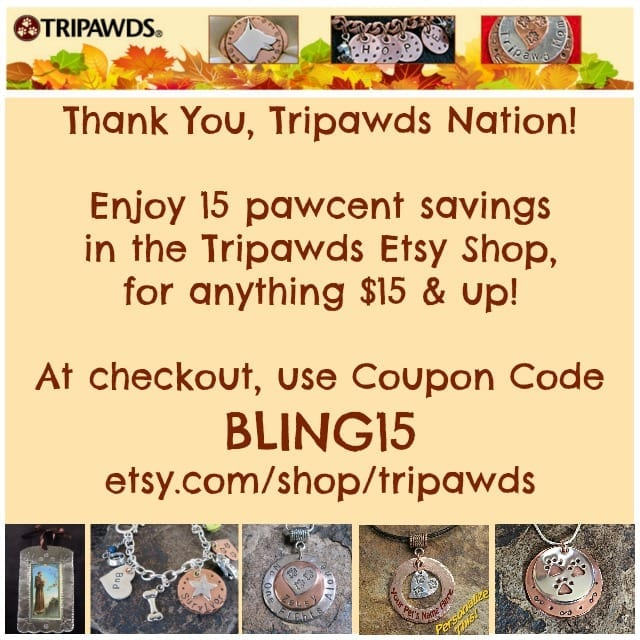 Tripawds, jewelry, coupon