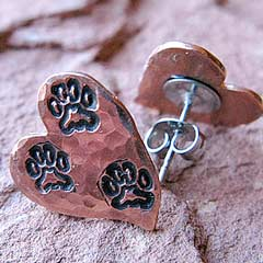 Tripawd Earrings