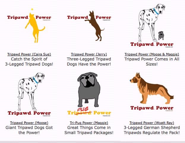 All New Tripawd Power Designs
