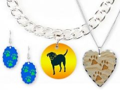 Tripawds Three Legged Dog Charm Necklaces Earrings Bracelet