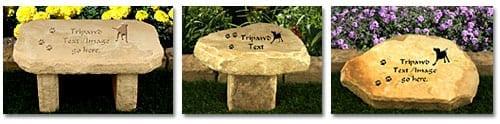 Garden Stone Tripawds Pet Memorials