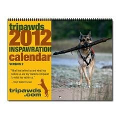 2012 Tripawds Inspirational Three Legged Dogs Calendar 1
