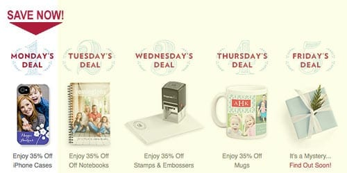 TinyPrints Cyber Deal Of the Day iPhone Cases