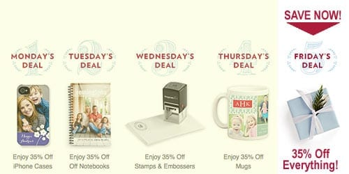 TinyPrints Cyber Deal Of the Day Sitewide Sale