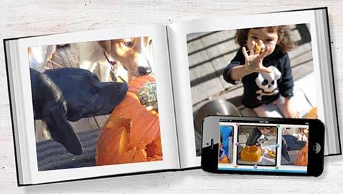 blurb mobile photo book app