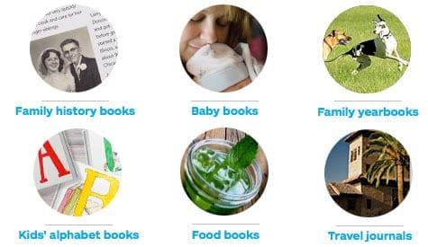 blurb gift center book ideas