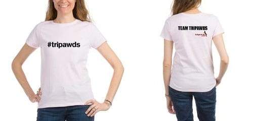 #tripawds team jerseys and apparel