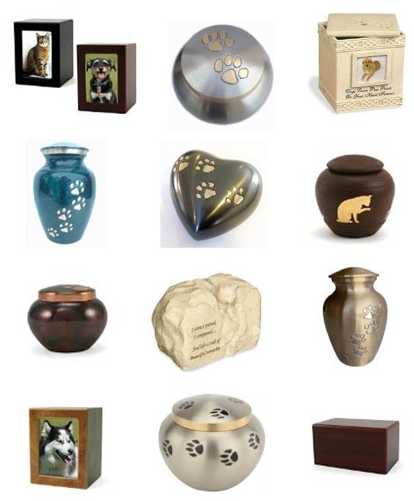 pet memorial urns