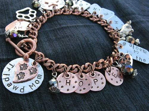 Tripawd Hero Hope Charm Bracelet