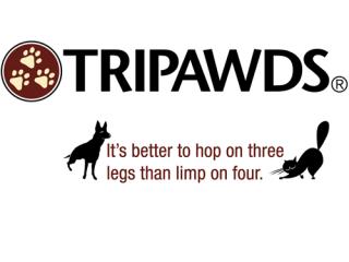 tripawds tagline t-shirt