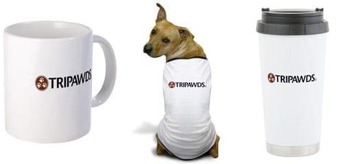 tripawds logo tagline gifts