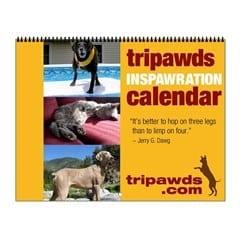tripawd calendar gifts