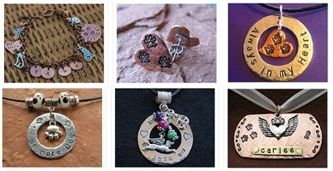 tripawds jewelry and tags