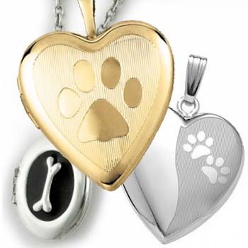 Pet Photo Memorial Lockets