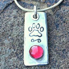 Paw pendant