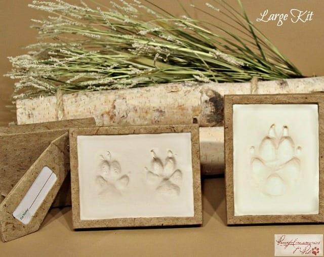 beautiful pawprint keepsake