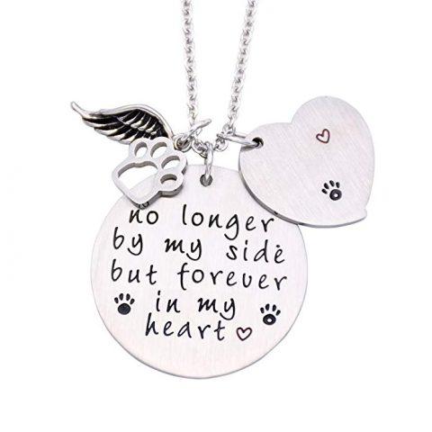 Silver Pet Memorial Jewelry