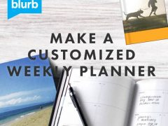 Blurb Custom Weekly Planner