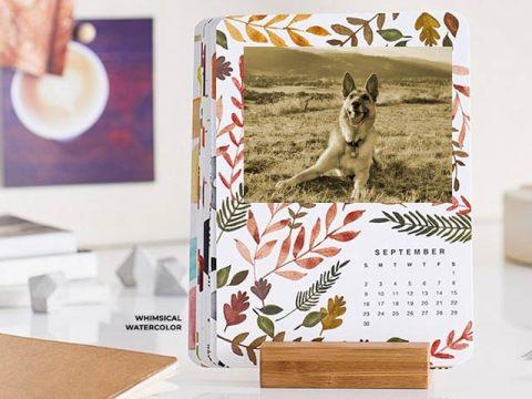 Custom Easel Calendar