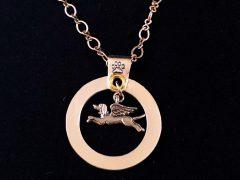angel dog,memorial,charm,tribute,custom,personalized,sterling silver,handmade,tripawd,three-legged