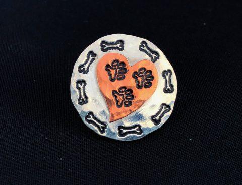 Tripawd gift lapel pin