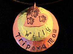 Tripawd Mom necklace