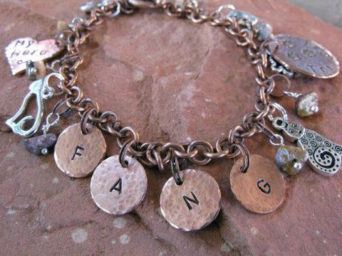 tripawd cat charm bracelet