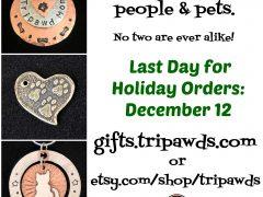 tripawds pawliday jewelry