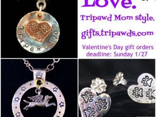 Tripawd gift jewelry