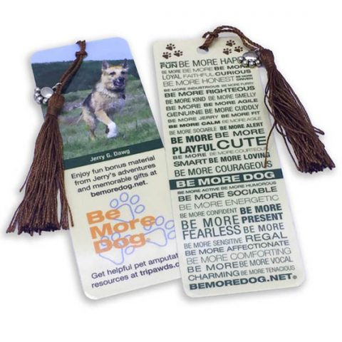 Be More Dog Bookmarks